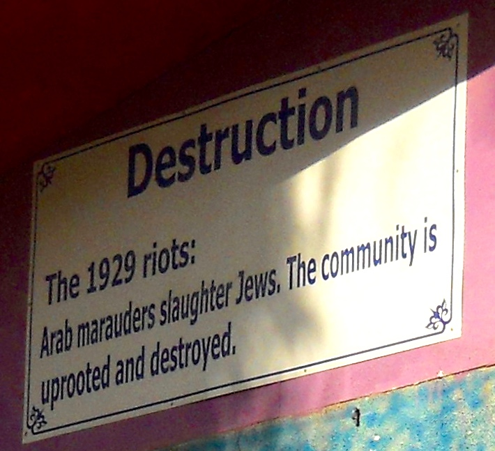 Propaganda in Hebron