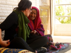 Hanan with 102 yr old Bedouin Woman