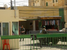 Hebron - Military Checkpoint