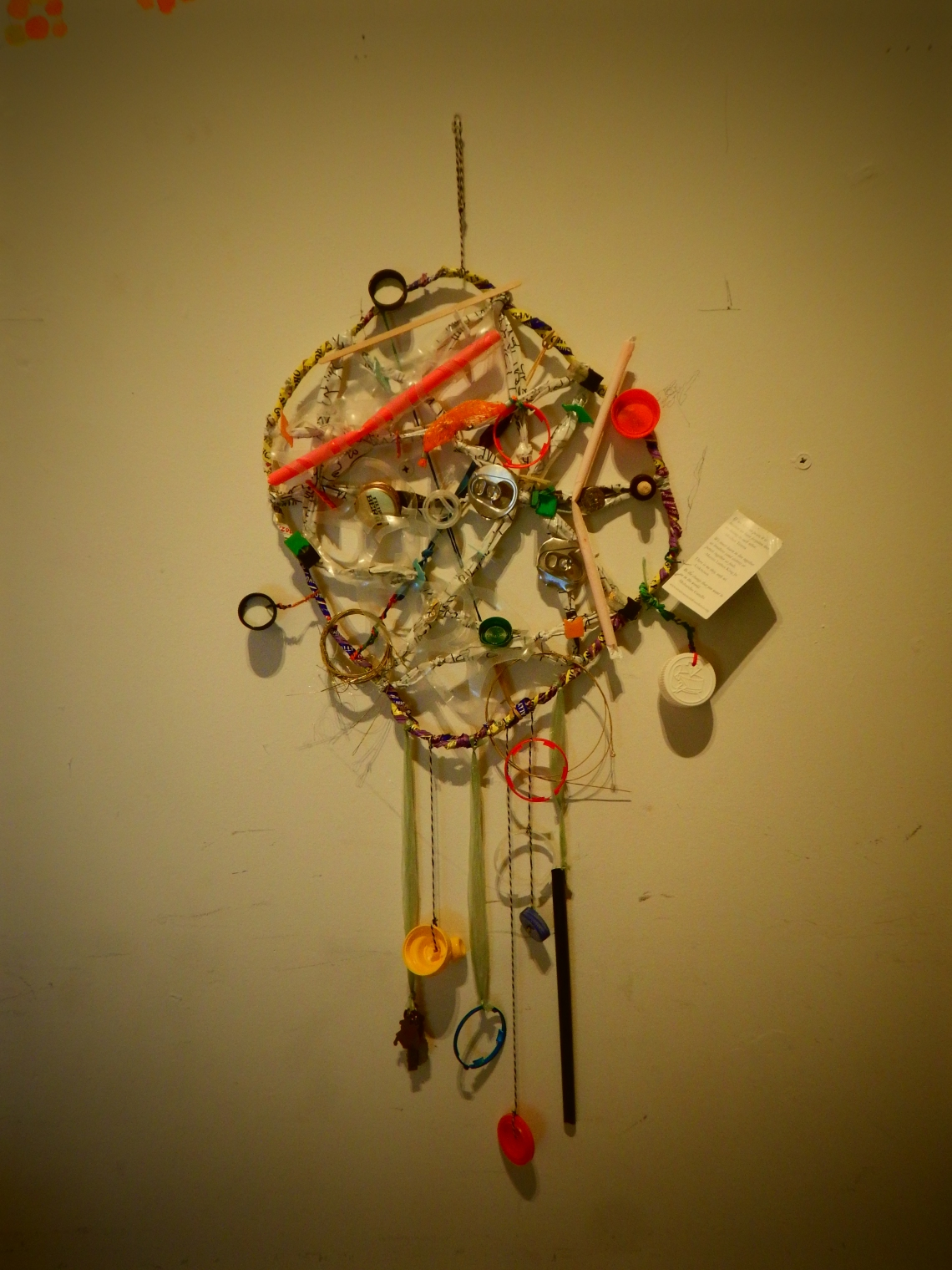 Garbage Dream Catcher