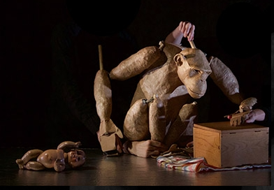 Chimpanzee, a puppet show NYC Nick Lehane