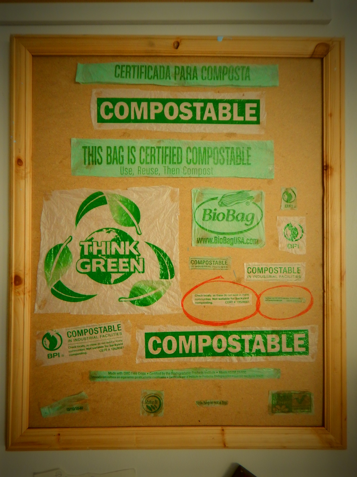"""Compostable"" Bag Hypocracy"